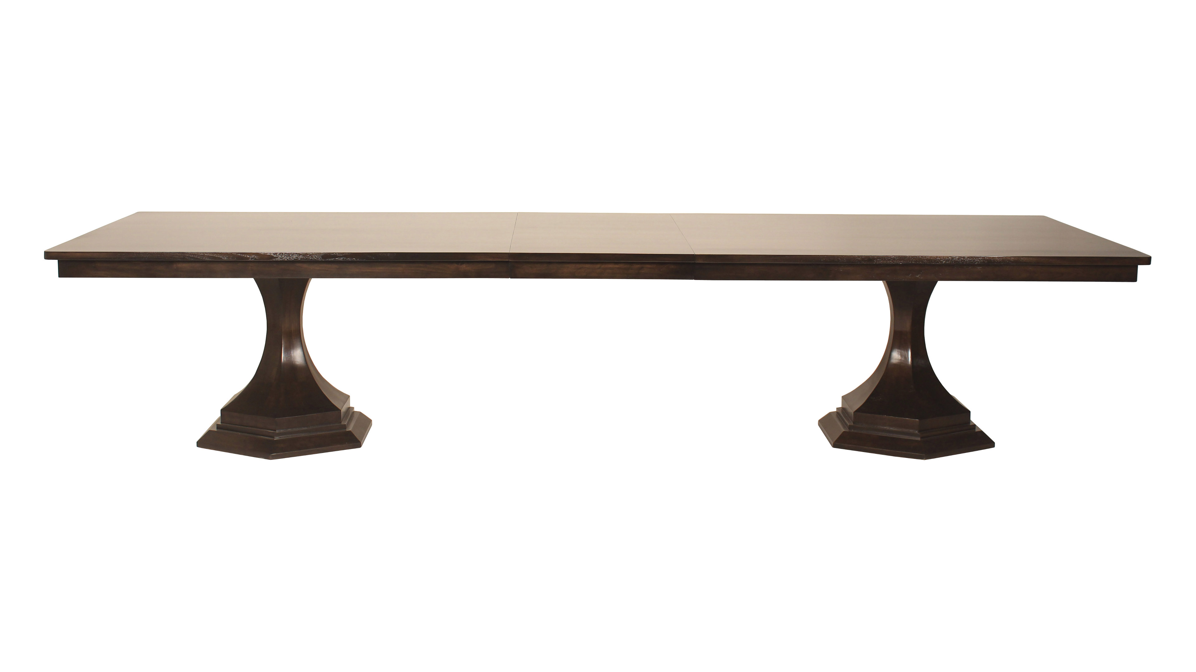 pedestal baker double mahogany style solutions collection with banded two cool leaves of by georgian dining table